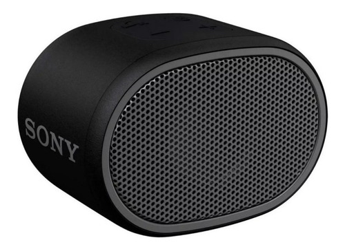 Parlante Sony Extra Bass XB01 portátil con bluetooth negro