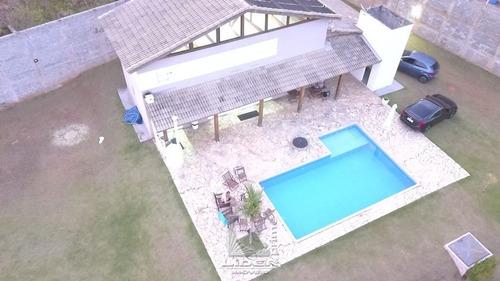 Casa Ampla Com Piscina Em Vargem - Cc0105-1