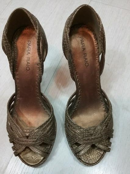 Sapato Salto Para Raio Tam 33 / 34