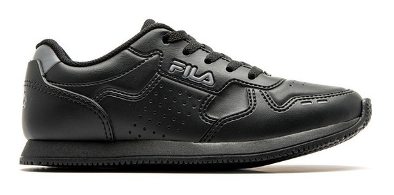 Zapatillas Fila Kids- Classic 92 Jr Negro