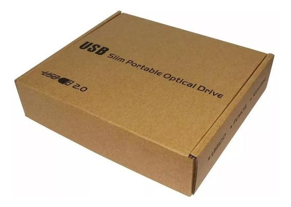 Case Para Gravador Dvd Externo 12,7 Sata Pra Sata (sem Dvd)