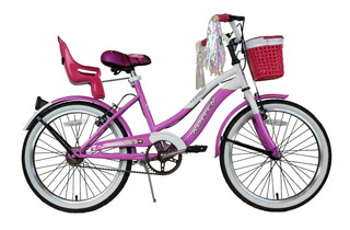 Bicicleta Infantil De Paseo Roller Linda R20 Envío Gratis.