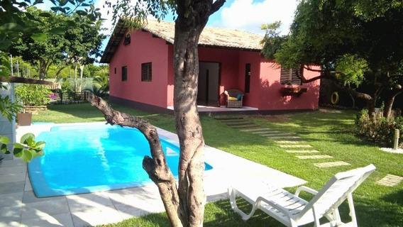 Casa Em Pium, Nísia Floresta/rn De 130m² 3 Quartos À Venda Por R$ 220.000,00 - Ca433643