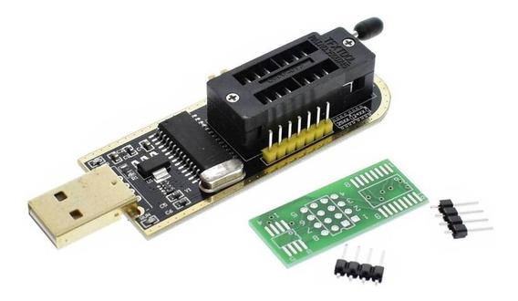 Programador Usb Ch341a Bios Eeprom Flash + Archivos