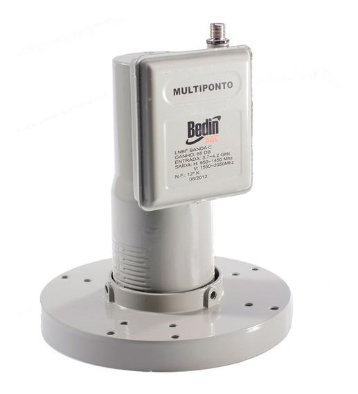 Lnbf Bedinsat Banda C Multiponto Universal 0050210001