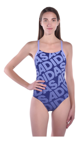 Traje De Baño adidas Azul Cv3658 Mujer