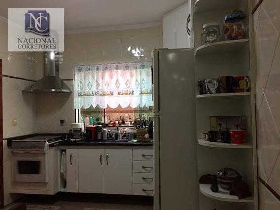 Sobrado À Venda, 250 M² Por R$ 750.000,00 - Parque Oratório - Santo André/sp - So3809