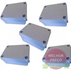 Kit C/ 5 Caixa Proteção Derivação Brum Brbo 4 - 190x140x70mm