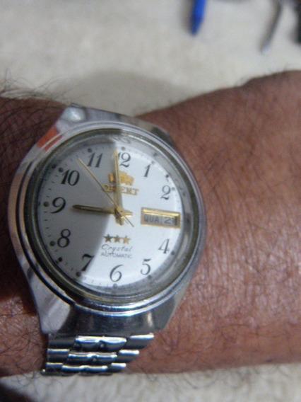 1 Relógio Orient Aut. Masc. Mod. Ke469me4 9zca 38 X 41 M/m