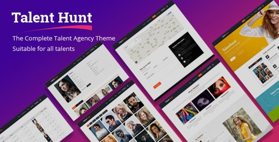 Talent Hunt V1.0.8 - Theme For Model Talent Management Servi
