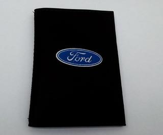 Carteira Masculina Porta Documentos De Carro Moto Ford