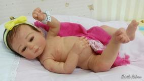 Bebê Kit Carmela Com Enxoval