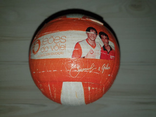 Mini Bola Leões Do Vôlei Voleibol Com Educação Emanuel Giba