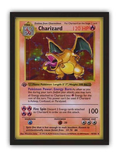 Quadro Decorativo Pokemon 30x40 Card Game