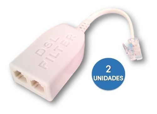 Filtro Adsl Splitter Linea Telefonia Internet Aba Punto 906+