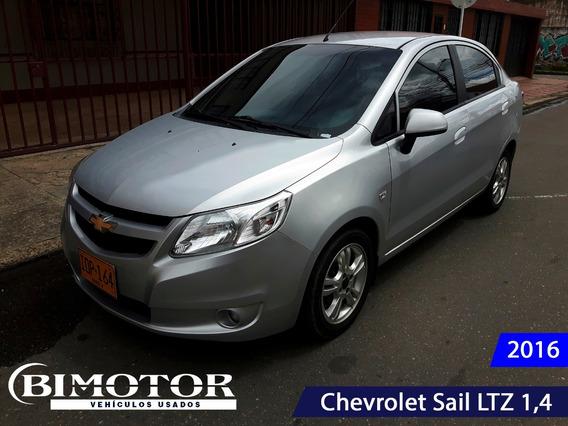 Chevrolet Sail Ltz Mecánico Sedán 2016