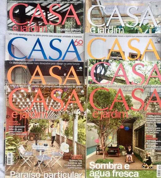 17 Revistas Casa E Jardim Com Frete Grátis