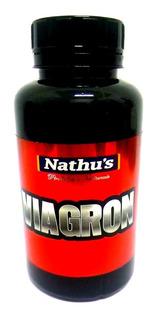 Viagron Nathus Extrato Seco Importado Natural 500mg 60 Cáps