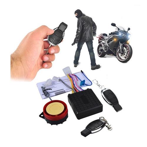 Alarma Moto Largo Alcance 60 M Distancia Antirrobo Mj433