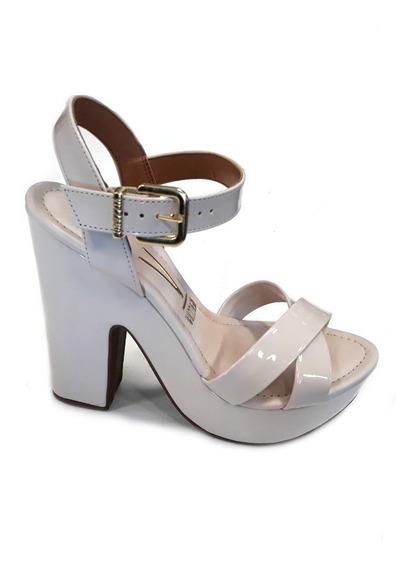 Zapato Sandalia Vizzano Taco Ancho 13cm Plataforma 4cm