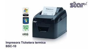 Impresora Termica Star Micronics Modelo Bsc10 Conexión Usb