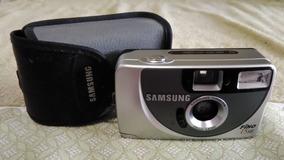 Câmera Samsung Fino Se Analógica C/ Zoom No Estado