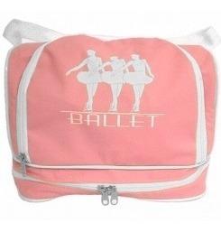 Bolsa Couro Sintético Grande Ballet Bailarina