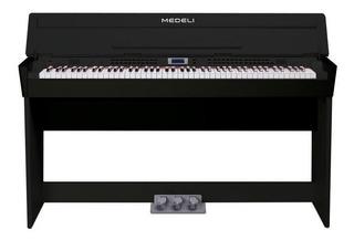 Piano Digital Compact Bk Cdp6200 C/ad Medeli