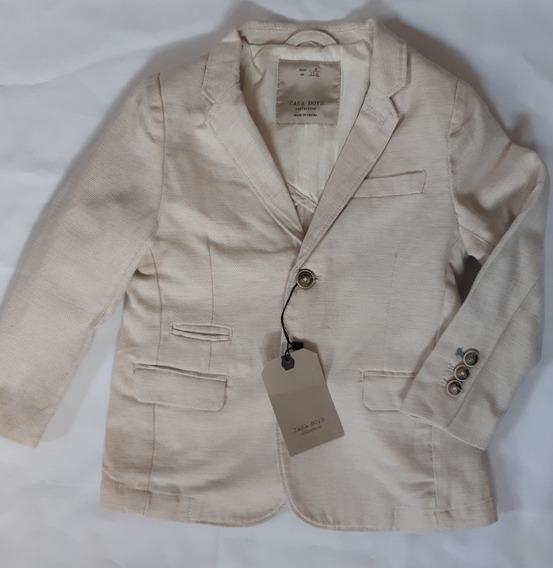 Saco Blaizer De Vestir Niño Zara