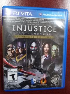 Injustice Gods Among Us Ultimate Edition Psvita