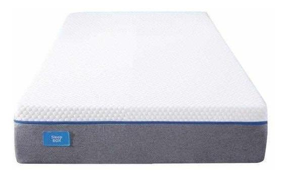 Colchon Alta Densidad 80x190 Con Memory Foam Sleepbox