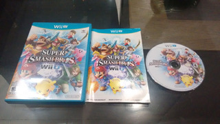 Super Smash Bros Completo Para Nintendo Wii U,checalo