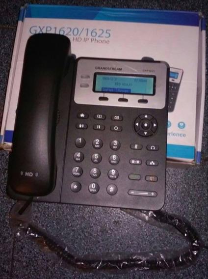Telefono Ip Gxp1620/25 Grandstream Doble Linea Poe Integrado