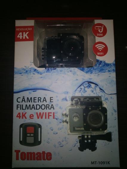 Câmera E Filmadora Mt-1091k Tomate 4k