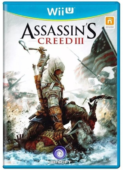 Assassins Creed Iii 3 Wii U Mídia Física Ubisoft