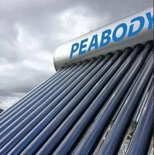 Peabody Termotanque Solar 150 L Todo Acero Ánodo Resistencia