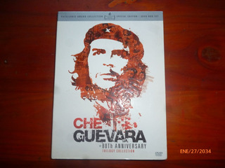 Che Guevara 80 Aniversario.3 Dvd Box Set.original.impecables