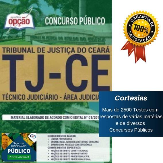 Apostila Tj Ce 2019 - Técnico - Área Judiciária - Ceará