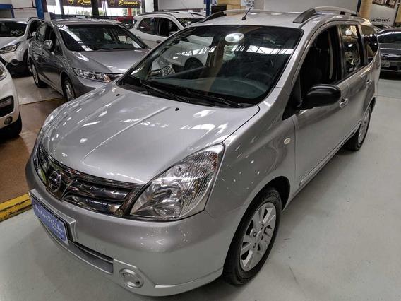 Nissan Grand Livina 1.8 S Flex Prata 2013 (completa)
