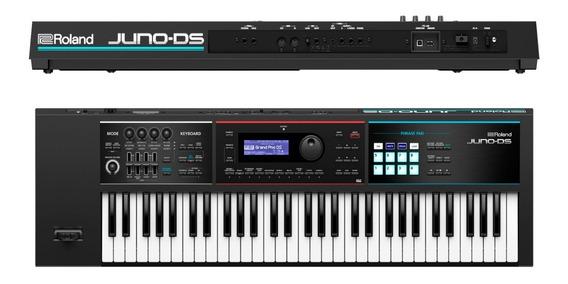 Teclado Sintetizador Roland 61 Teclas Portatil Juno Ds61
