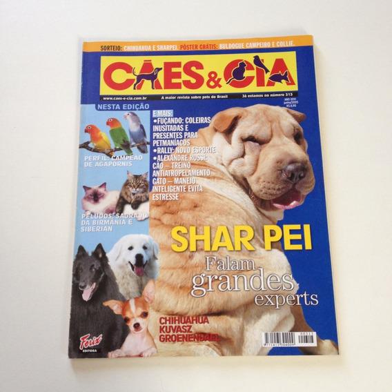 Revista Cães E Cia Shar Pei Falam Grandes Experts D554