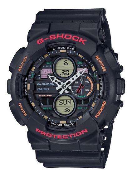 Relógio Casio G-shock Anadigi Preto Ga-140-1a4dr