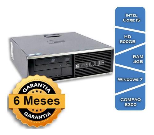 Imagem 1 de 8 de Pc Hp Compaq 8300 Core I5 3570gº Hd500 4gb Ram Win7 Small