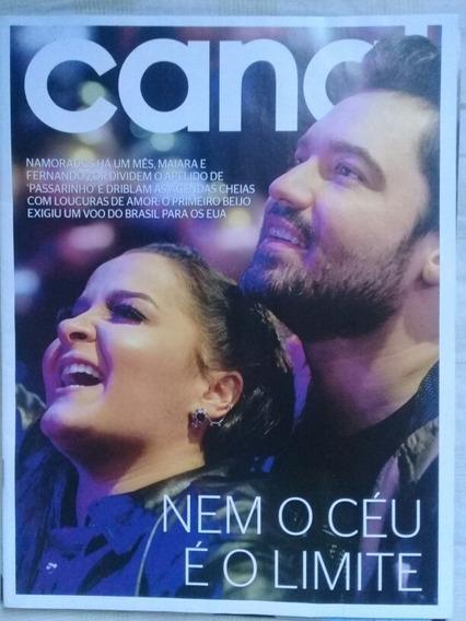 Revista Canal Extra: Maiara (maraisa) E Fernando (sorocaba)