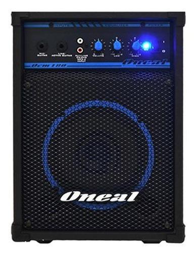Caixa Amplificada Oneal Ocm180 30w Auxiliar - Nova - Sem Gar