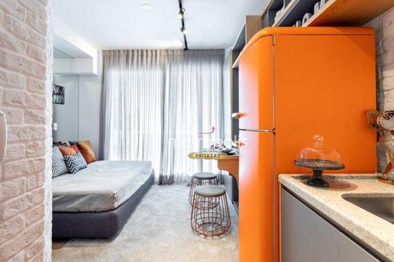 Studio Com 1 Dormitório À Venda, 22 M² Por R$ 267.000 - Centro - São Paulo/sp - St0006