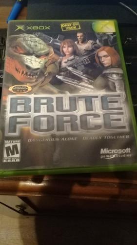 Juego De Xbox Brute Force