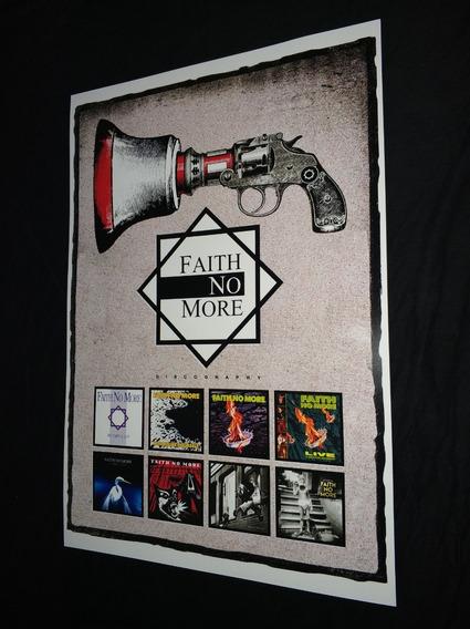 Poster Lp Faith No More Banda Metal Rock Vinil Faith No More