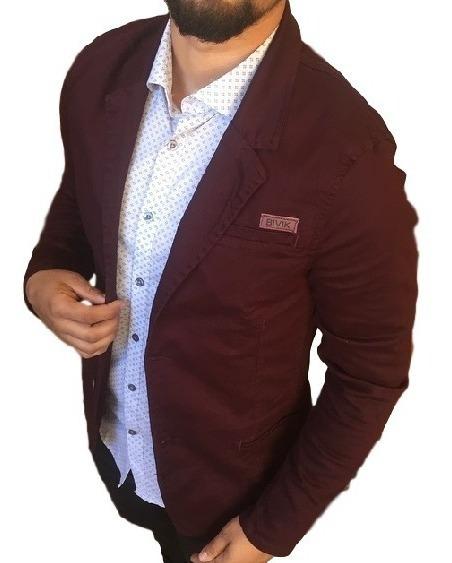 Blazer Masculino Social Jens Slim Fit Casaco Casual Blusa