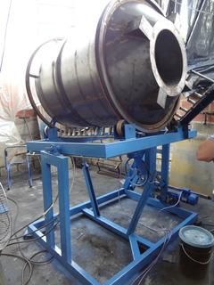 Maquina Para Fabricacion De Tanques De Agua Por Rotomoldeo